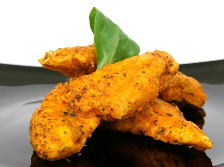 Spicy Crispy Chicken Tenders