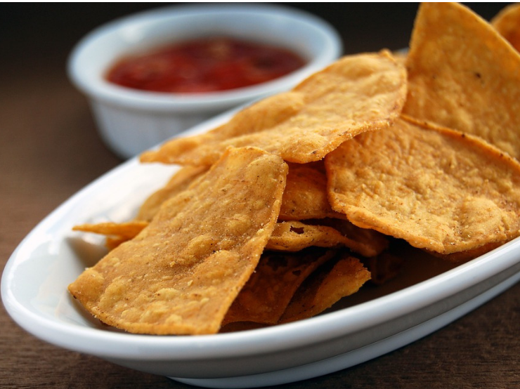 Sweet and Spicy Tortilla Chips