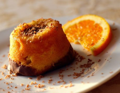 Orange Ginger Cake